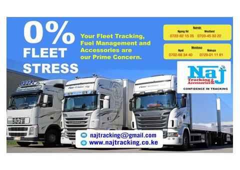 Fuel Monitoring and Fleet Management @Naj Mombasa