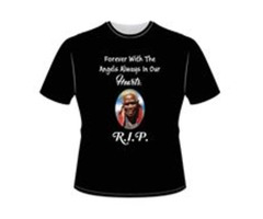 Funeral T-shirts Printing