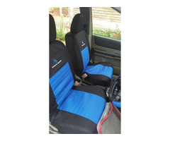 Universal Fit Sports Series Fabric (Cotton & Polyester) Car Seat Covers