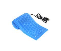 Foldable USB Flexible Silicone Keyboard