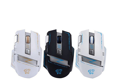 Rechargeable 7 Button Wireless Ergonomic Optical Silent V5 Gaming Mouse