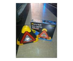 SALE!!! Portable Led Multi-function Triangle Emergency Warning Light and Multipurpose Lighting