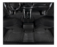 3 Piece Conjoined/Continuous 5 Seater Full Rubber Floor Mats
