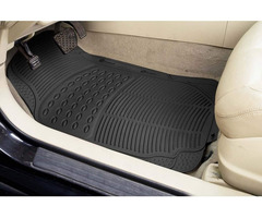 Zone Tech 3 Piece Conjoined/Continuous Heavy Duty Rubber Floor Mats
