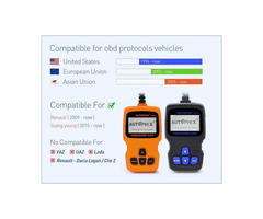 Universal Car Engine Fault Code Reader CAN Diagnostic Scan Tool
