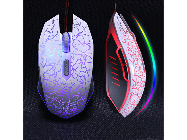 LED USB 6 button Gaming Mouse 614