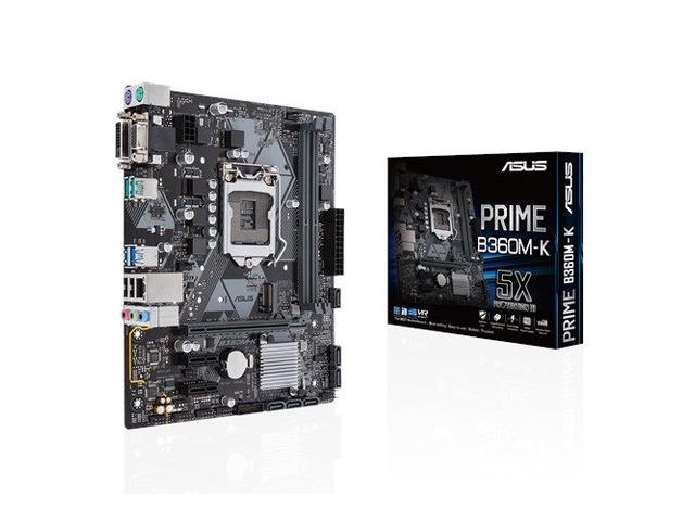Asus PRIME B360M-K 8th generation Gaming Motherboard