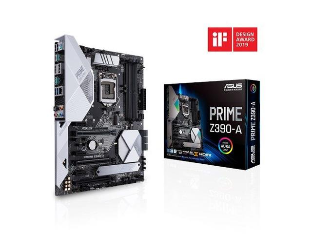 ASUS PRIME Z390_A 9th Generation Gaming Desktop Motherboard