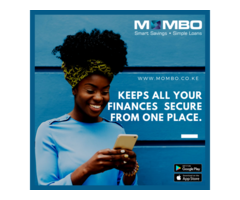 Smart Savings And Simple Loans in Kenya- Mombo App
