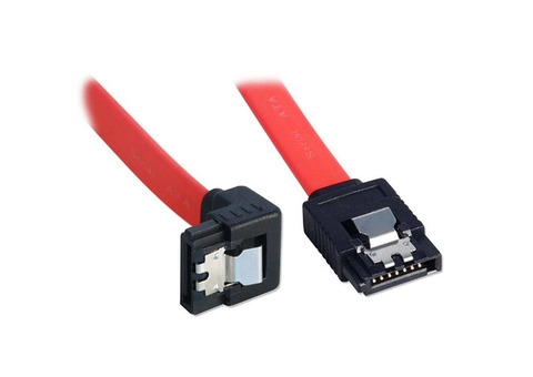 High quality 6Gbps curved SATA DATA cable