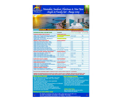 November, December & New Year Family Holiday Offers 2019