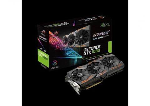 Nvidia 8GB GTX 1080 Asus STRIX GAMING Graphics Card