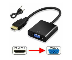 HDMI male to female VGA cord