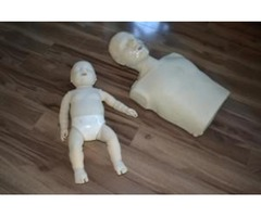 First aid trainings and First aid training equipments (mannequins)