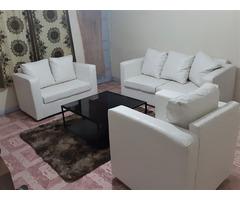 Sofa seat leather