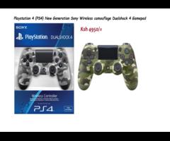 Playstation 4 {PS4} New Generation Sony Wireless camouflage Dualshock 4 Gamepad