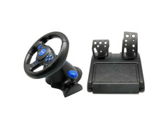 Vibration steering wheel for pc ps2 and ps3
