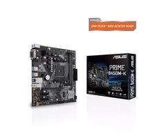 Asus Prime B450M-K AMD Gaming Desktop Motherboard