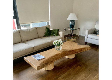Jacaranda live edge coffee table