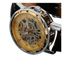 Skeleton Mechanical Wrist Watches
