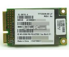 Wireless wide Area Network (WWAN) Mini PCI Modules for Compatible Laptops